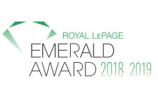 Royal LePage Emerald Award - The Andy and Paddy Team